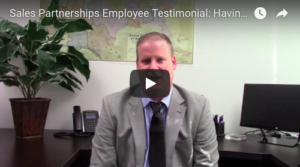 Sales Partnerships Employee Testimonial