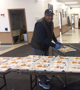 Bert Fullwood feeding the homeless in Denver