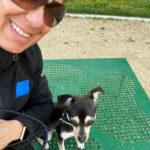 Lisa shelters dog in LA