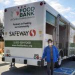 Teresa at the Food Bank in San Francisco